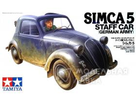 Simca 5 German Army Staff Car