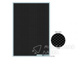 Декаль Carbon Pattern Decal Set - Plain Weave/Fine