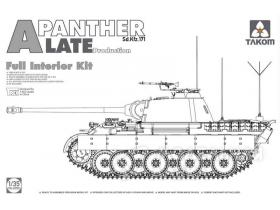 Panther Ausf. A late production (full interior)