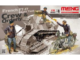 Танк French FT-17 Light Tank grew and orderly