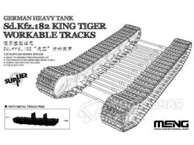 "German Heavy Tank Sd.Kfz.182 ""King Tiger"" Workable Tracks Meng"