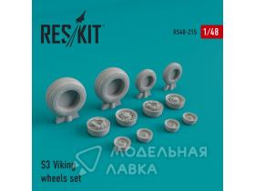 Lockheed S-3 Viking wheels set