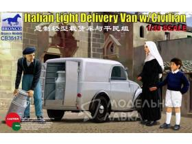 Italian Light Delivery Van w/Civilian