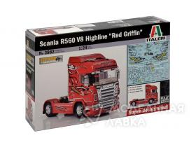 Грузовик Scania R560 V8 Highline''Red Griffin''