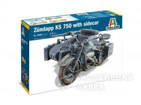 ZUNDAPP KS 750 with Sidecar