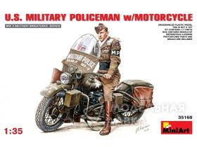 Military Policemen w/Motorcycle