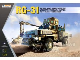 RG-31 Mk5 US Army Mine-protected Armored Personnel Carr