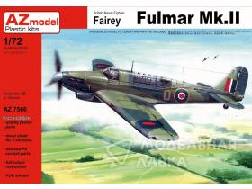 British Naval Fighter Fairey Fulmar Mk.II