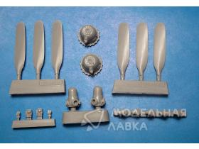 PV-1 Ventura corrected propeller and crankcases for Revell kit