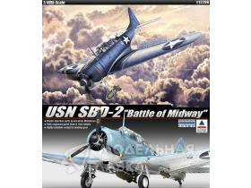 Самолет USN SBD-2 Battle of Midway