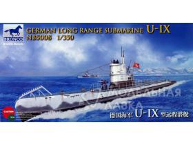German Long Range Submarine Type U-IX A
