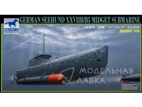 Подводная лодка German 'Seehund' XXVII B/B5 Midget Submarine (2 options in 1)