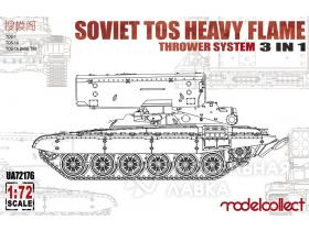 Soviet TOS Heavy Flame Thrower System