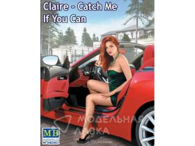Фигурка девушки Dangerous Curves, Claire - Catch Me If You Can