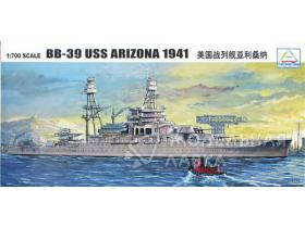 BB-39 USS Arizona 1941 с эл.приводом