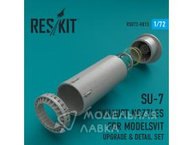 Su-7 exhaust nozzles for Modelsvit