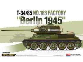 "Танк T-34/85 No.183 Factory ""Berlin 1945"""