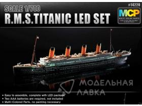 Корабль R.M.S. Titanic + Led Set