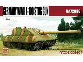 САУ Germany WWII E-100 Supper Heavy Jagdpanther