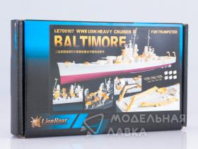 WWII USN Heavy Cruiser CA-68 Baltimore for Trumpeter