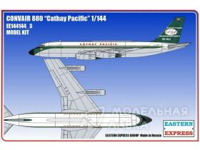 Авиалайнер Convair CV-880 Cathay Pacific