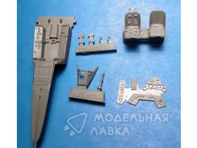 Fw 190A-5 Fw 190A-8 Cockpit Set for Hasegawa