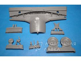 Fw 190A-8 Wheel Wells and Wheels Set for Tamiya