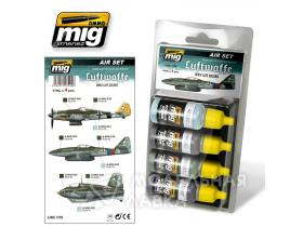 Набор Luftwaffe WWII Late Colors Acrylic Aircraft Set