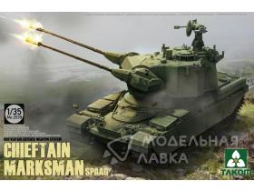 Танк British Air-defense Weapon System Chieftain Marksman SPAAG