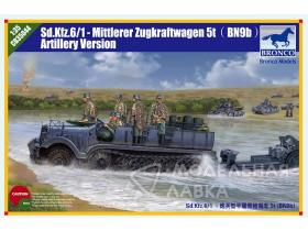 Sd.kfz. 6/1 5(t) Typ BN9 Artillery Version