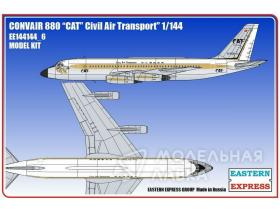 Авиалайнер Convair CV-880 CAT
