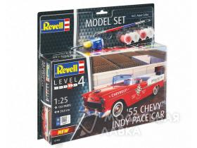 '55 Chevy Indy Pace Car Model Set