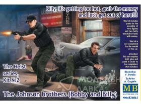 The Heist series, Kit №2 The Johnson brothers (Bobby and Billy)