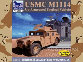 USMC M-1114 Up-Armoured Tactical Vehicle