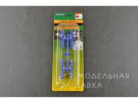Holding/Guide pin for silicone mould-M (Blue)