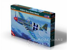 Самолет P-51 B-5 Hurry Home Honey