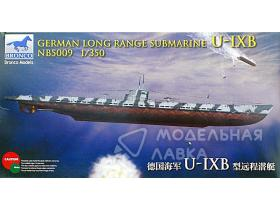 German Long Range Submarine Type U-IX B