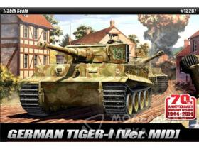 "Танк Tiger -I Mid Ver ""Anniv.70 Normandy Invasion 1944"""