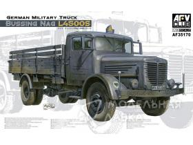 German Military Truck Bussing Nag L4500s