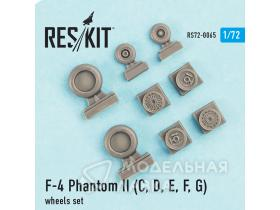 Колеса F-4 Phantom II (C, D, E, F) Wheels Set
