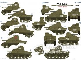 Декали M3 Lee in Red Army Part I