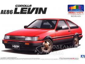 Toyota AE86 Levin '83 (Red/Black)