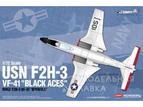 Самолет USN F2H-3 VF-41 Black Aces