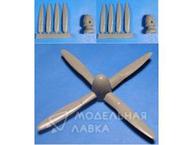 P-61 Black Widow Propellers & Spinners for Revell