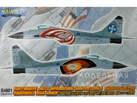 MiG-29 9-12 Fulcrum A (Late) 'Farewell USA 2003' Kit First Look