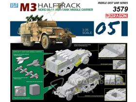 IDF M3 Halftrack Nord SS-11 Anti-Tank Missile Carrier