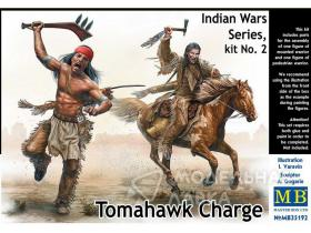 """Tomahawk Charge"" Indian Wars series, kit #2"