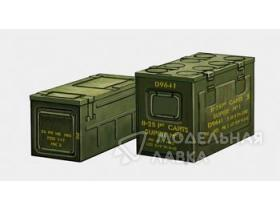 WWII British 25prd ammo box (for Staghound APC)