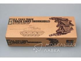 U.S. T91E3 track for U.S. M41/42 light tank