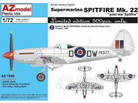 "British Famous Fighter Supermarine Spitfire Mk. 22 ""post war Spitfire"""